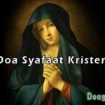 DOA SYAFAAT KRISTEN : Awalan, Isi, Penutup