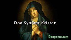 contoh doa syafaat kristen