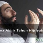 DOA AKHIR TAHUN HIJRIYAH : Arab, Latin, Terjemahan