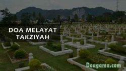 doa melayat takziyah
