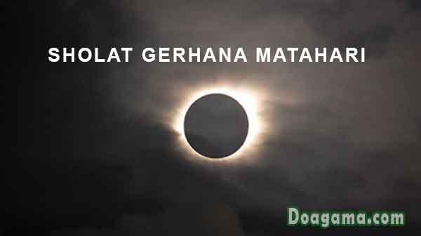 sholat gerhana matahari