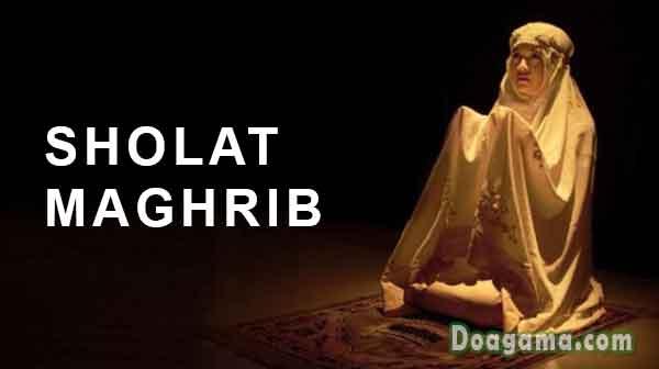 sholat maghrib