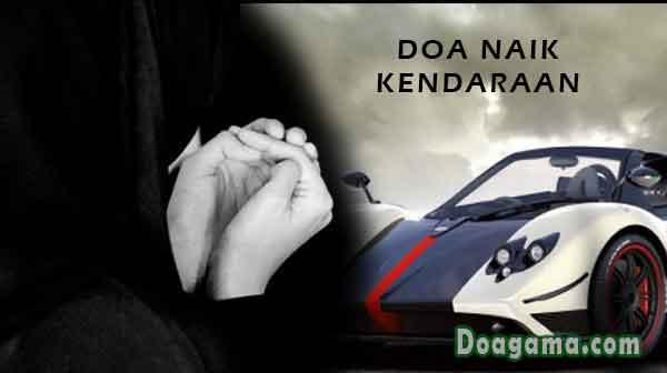 doa naik kendaraan