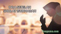 doa setelah sholat istikharah