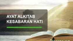 ayat alkitab tentang kesabaran hati