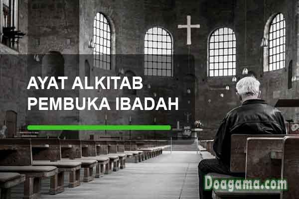 ayat alkitab untuk pembuka ibadah