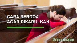 cara berdoa kristen agar dikabulkan