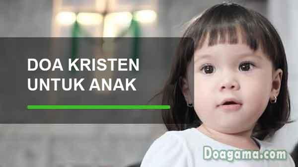 doa kristen untuk anak