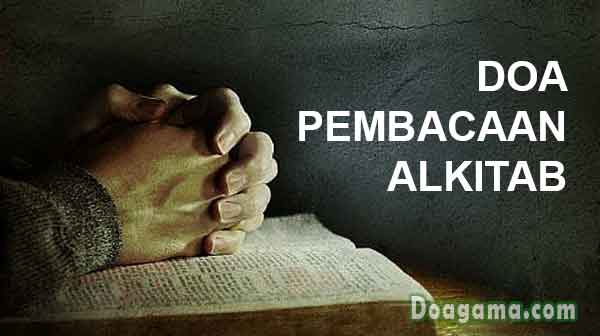 doa pembacaan alkitab