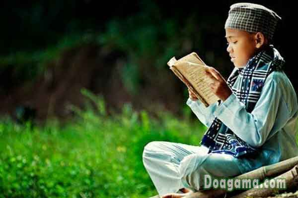 membaca doa ayat kursi