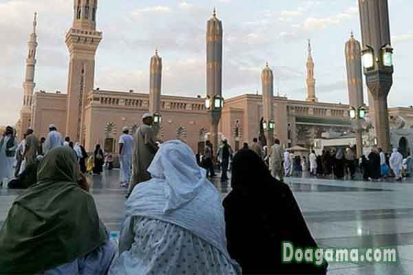 doa pergi berangkat menuju masjid